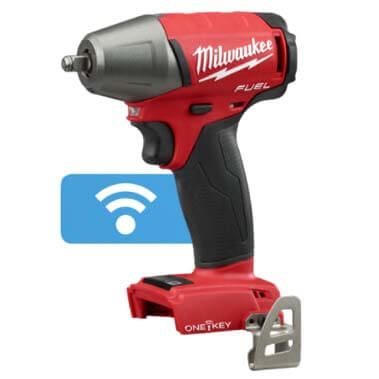 """M18 Fuel 3/8"""" Compact Impact Wrench w/ Friction Ring and ONE-KEY (Bare Tool Only) Product Image"""