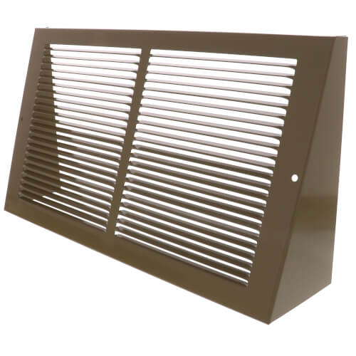 """14"""" x 8"""" Golden Sand Baseboard Return Air Grille (658 Series) Product Image"""
