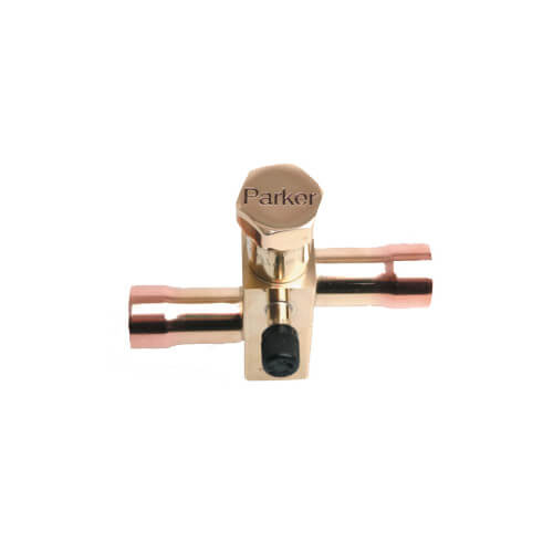 """3/4"""" ODF QL171R-12-12 with Right Hand Access Fitting Service Valve Product Image"""