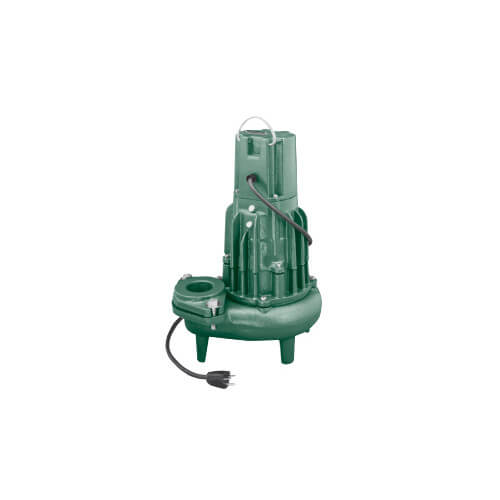 """Waste-Mate F294 Single Seal Manual Sewage Pump, 3"""" Discharge (230V, 1.5 HP, 9.5A) Product Image"""