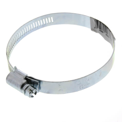 "3"" Galvanized Worm Gear Clamps Product Image"