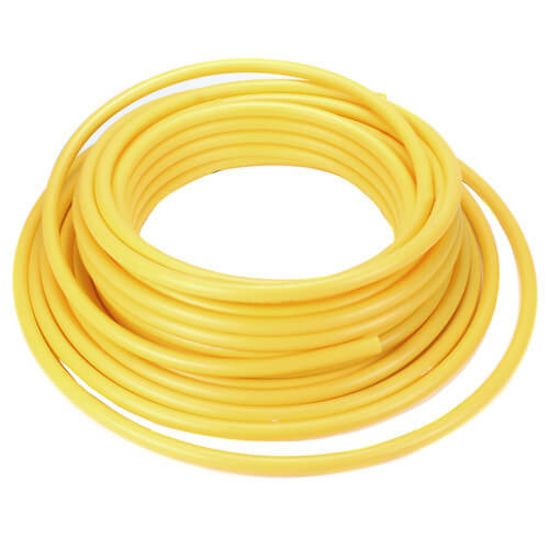 """1/2"""" CTS Yellow Medium Density PE 2708 Gas Pipe - 500 Ft. (SDR-7) Product Image"""
