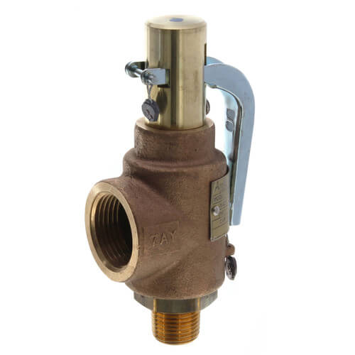 """29 Series 1/2"""" MNPT x 1"""" FNPT 423 LBS/HR Safety Relief Valve (100 psi) Product Image"""