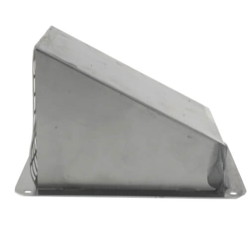 "3"" Galvanized Fresh Air Intake Hood Product Image"