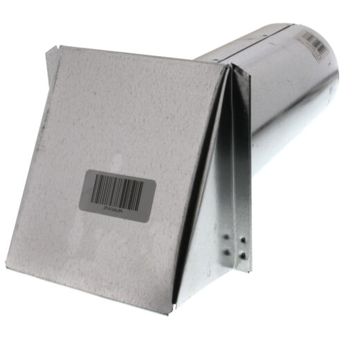 "4"" Galvanized Fresh Air Intake Hood Product Image"