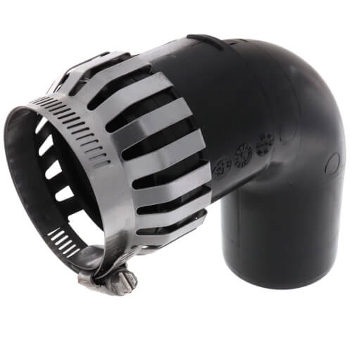 "2"" PolyPro 90° Black UV Resistant Elbow w/ LB2 Product Image"