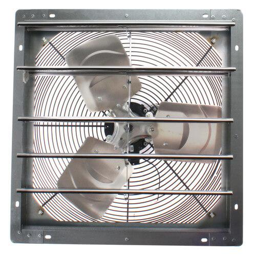 "2SHE Series 18"" Shutter Mount Exhaust Fan Product Image"