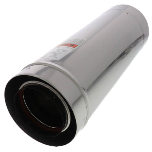 "4"" x 1-1/2 Ft. Z-Vent Double Wall Pipe Product Image"