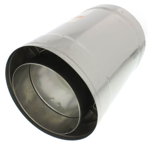 """6"""" x 1 Ft. Z-Vent Double Wall Pipe Product Image"""