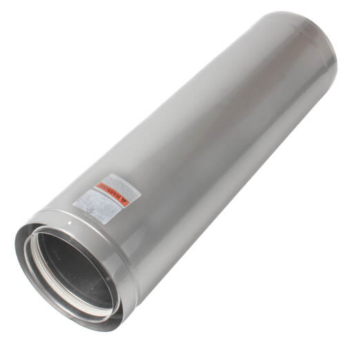 "8"" x 3 Ft. Z-Vent Double Wall Pipe Product Image"