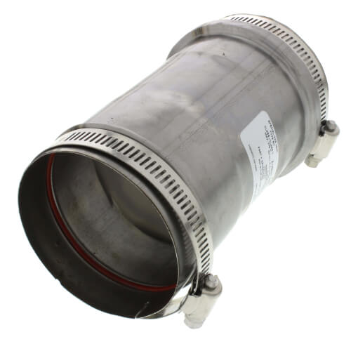 """3"""" Z-Vent Double Wall Tee Cap with Drain Product Image"""