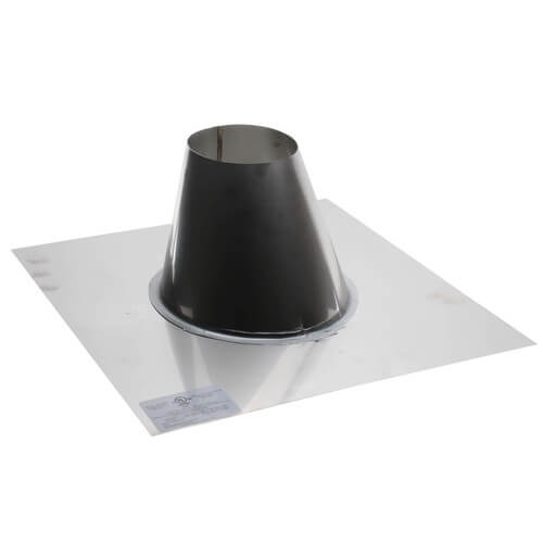 "4"" Z-VENT Adjustable Roof Flashing Product Image"