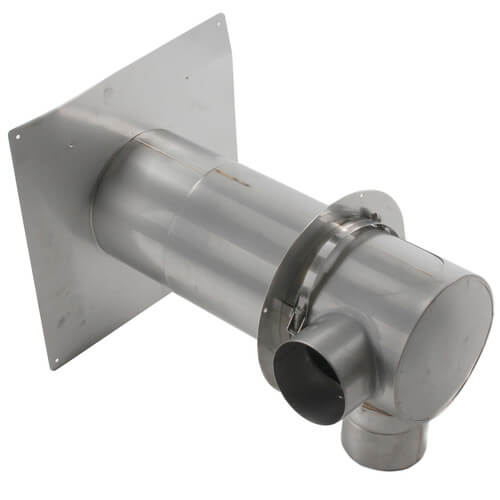 "3"" Z-Vent Concentric Vent Termination, 3"" In 3"" Out Product Image"