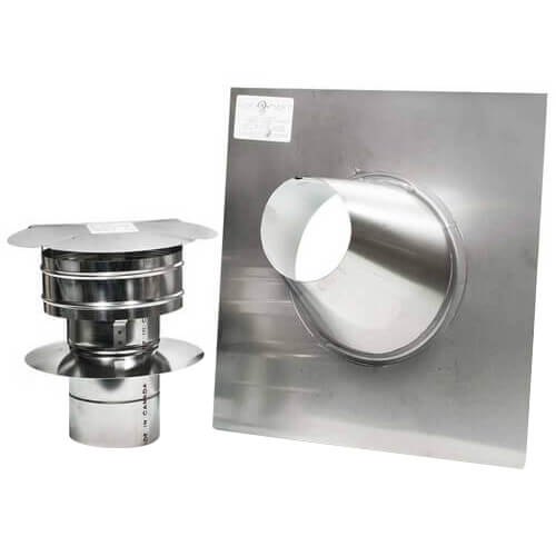 """4"""" Z-Vent Water Heater Vertical Vent Kit Product Image"""