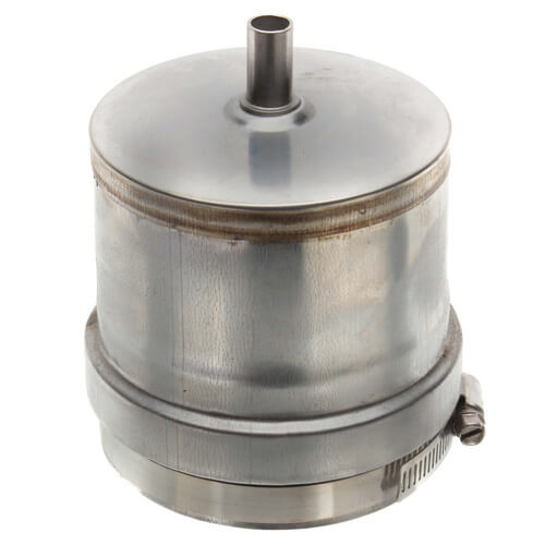 "4"" Z-Vent Tee Cap with Drain Product Image"