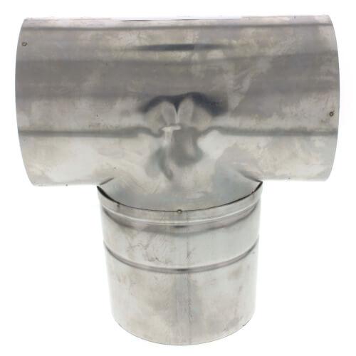 "4"" Z-Vent Horizontal Termination Tee Product Image"