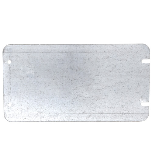 4-Gang Flat and Blank Steel Box Cover (8.5 Cubic Inches) Product Image