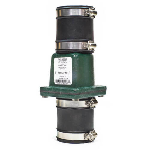 "2"" Cast Iron Slip x Slip Check Valve Union Product Image"