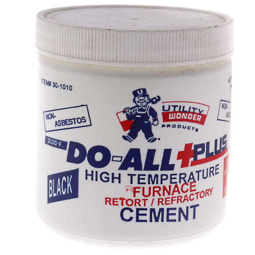 1 lb. DO-ALL+PLUS Furnace Cement Product Image