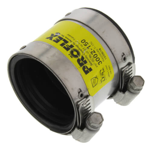 "1.5"" x 1.5"" ProFlex Coupling (Cast Iron, PVC, Steel to Tubular) Product Image"