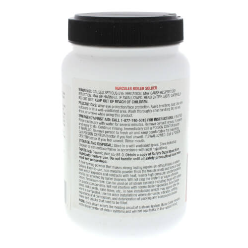 1 lb  Boiler Solder (Powdered Stop Leak)