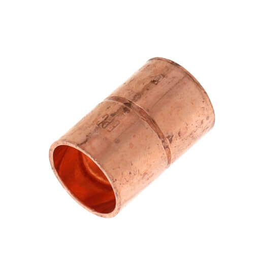 """3/8"""" Copper Ring Coupling Product Image"""