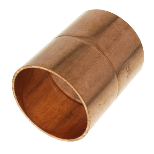 """1-1/2"""" Copper Ring Coupling Product Image"""