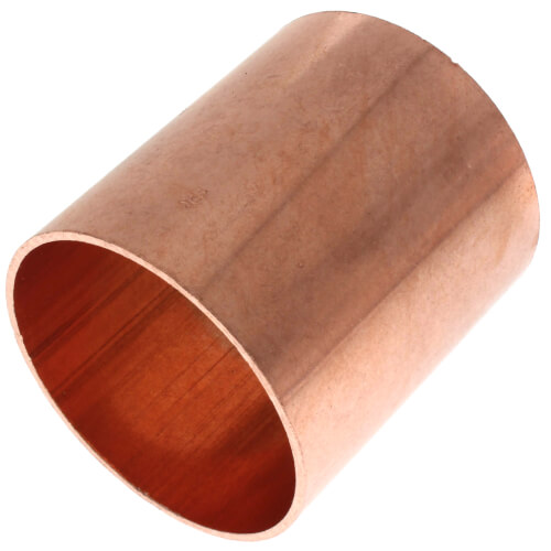 """2-1/2"""" Copper Coupling Less Stop Product Image"""