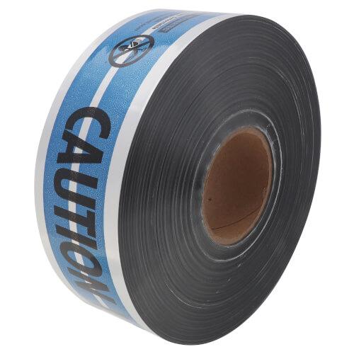 """MAGNATEC """"Caution Water Line Below"""" Detectable Tape (3"""" x 1000 Ft) Product Image"""