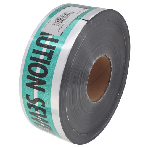 "MAGNATEC ""Caution Electric Line Below"" Magnetic Tape (3"" x 1000 Ft)  Product Image"