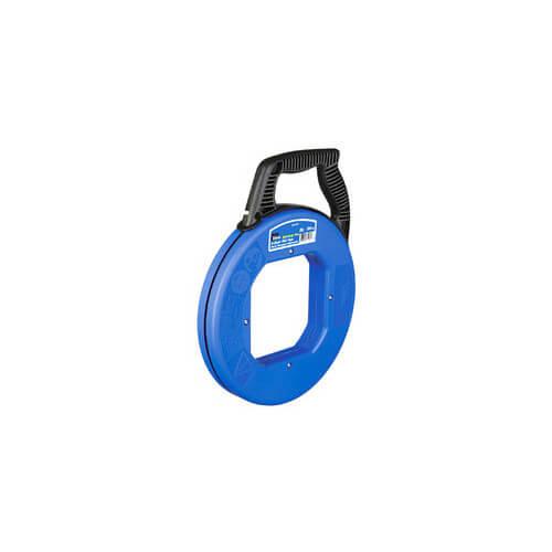 Ideal 31-061 Tuff-Grip Pro 100/' S-Class Fish Tape w// Leader