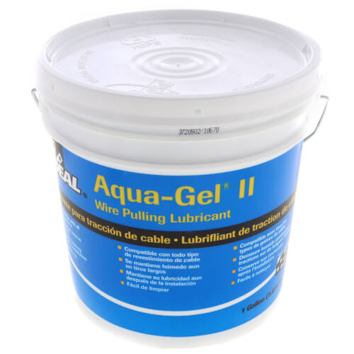 Aqua-Gel II Cable Pulling Lubricant, 1 Gallon Bucket Product Image