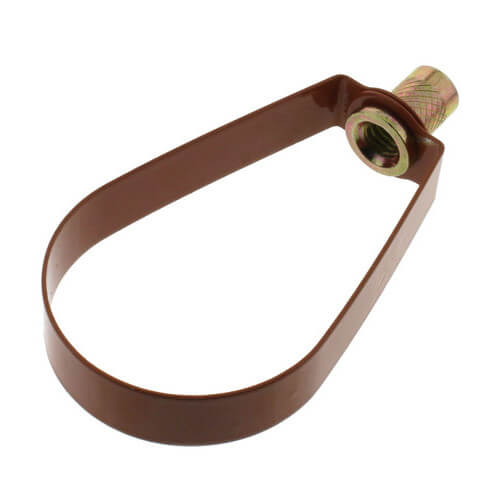 "2"" Copper Epoxy Coated Em-Lok Swivel Ring Product Image"