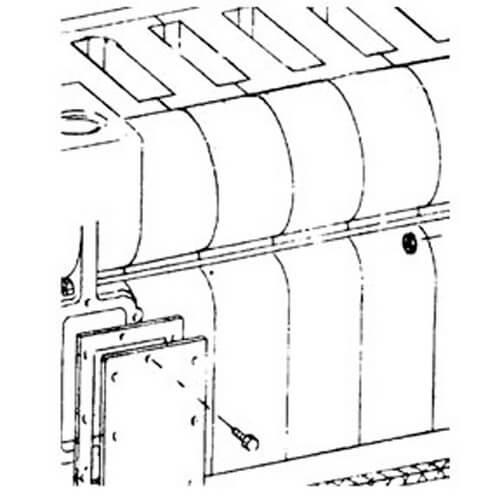 Intermediate Section w/ Tie Rod Lugs Product Image