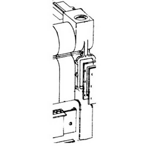 Right Hand End Section w/o Heater Opening Product Image