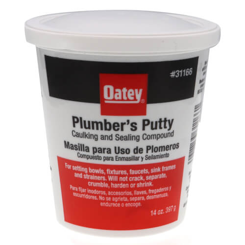 Plumbers Putty, White (14 oz.) Product Image