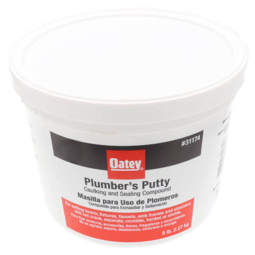 Plumbers Putty, White  (5 lbs.) Product Image