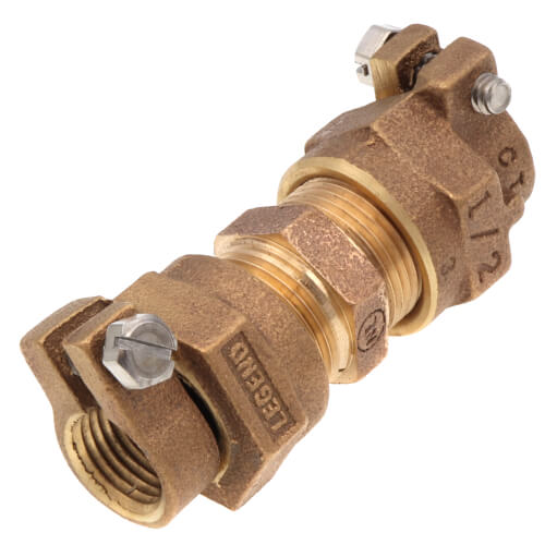 """1/2"""" Pack Joint (CTS) Union - T-4301NL (No Lead Bronze) Product Image"""