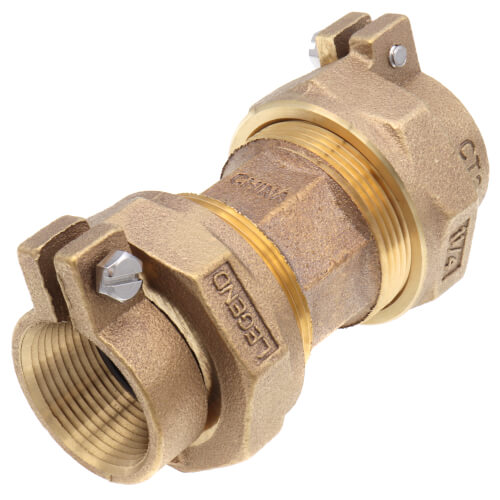"""1-1/4"""" Pack Joint (CTS) Union - T-4301NL (No Lead Bronze) Product Image"""