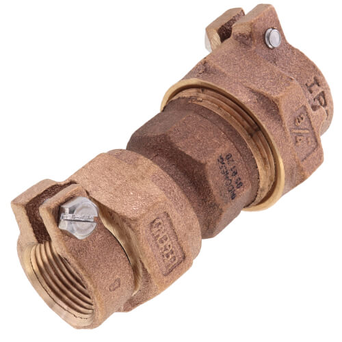 """3/4"""" Pack Joint (IPS) x Pack Joint (CTS) Union - T-4325NL (No Lead Bronze) Product Image"""