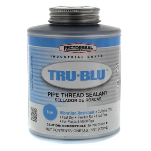 RectorSeal Tru-Blu Pipe Thread Sealant w/ Brush Top (16 oz.) Product Image