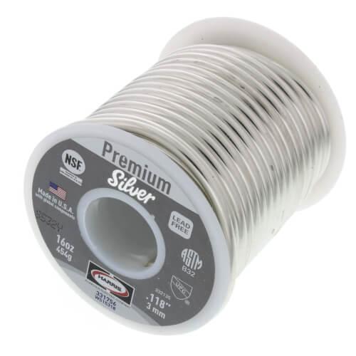 Premier Silver Lead Free Wire Solder (1 lb. Spool) Product Image