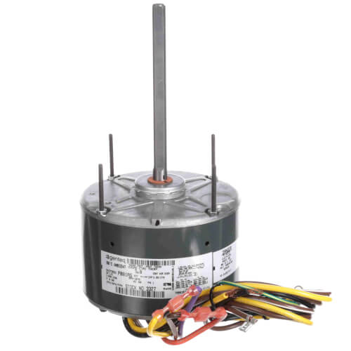 1 Speed Condenser Fan & Heat Pump Motor w/ Shaft Up 1/6 HP, 1075 RPM (208-230V) Product Image