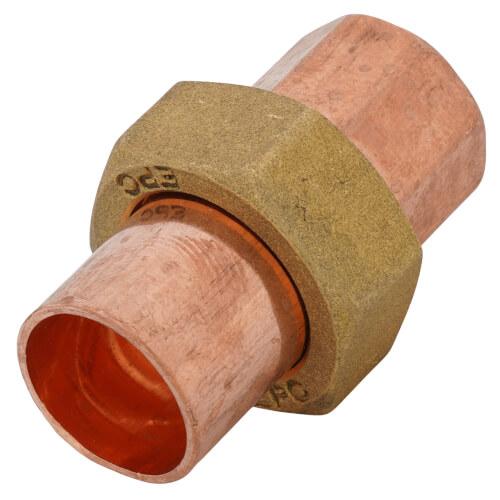 "1/2"" Copper Union Product Image"