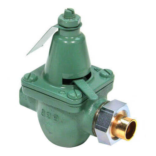 "1/2"" Brass Pressure Reducing Valve (Union Sweat x FNPT) Product Image"
