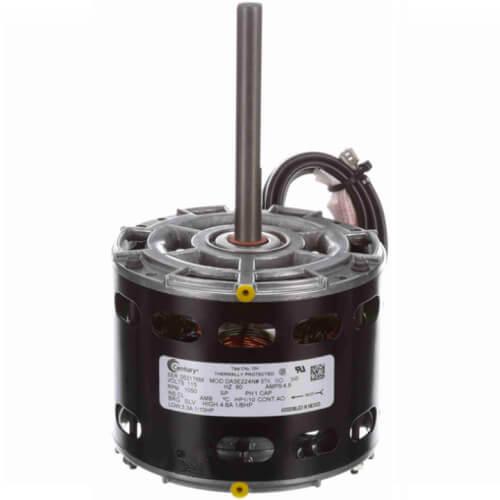 """5"""" 2-Speed Single Shaft Open Fan/Blower Motor (4.8-3.3A, 115V, 1050 RPM, 1/8, 1/10 HP) Product Image"""