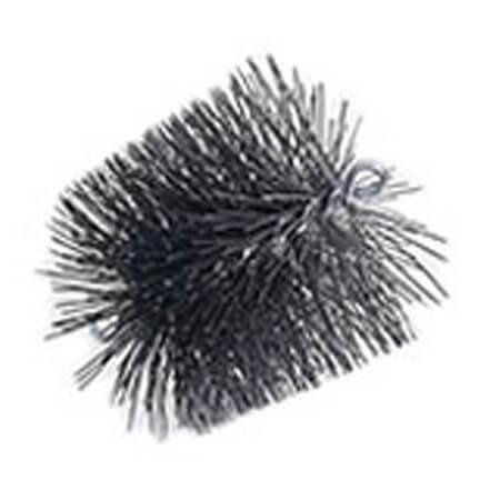 """6"""" Round Pro-Sweep Medium Duty Poly Chimney Brush (3/8"""" MPT) Product Image"""