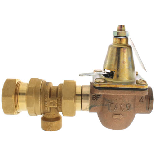 """1/2"""" Brass Combination Boiler Feed Valve & Backflow (Union Sweat x FNPT) Product Image"""