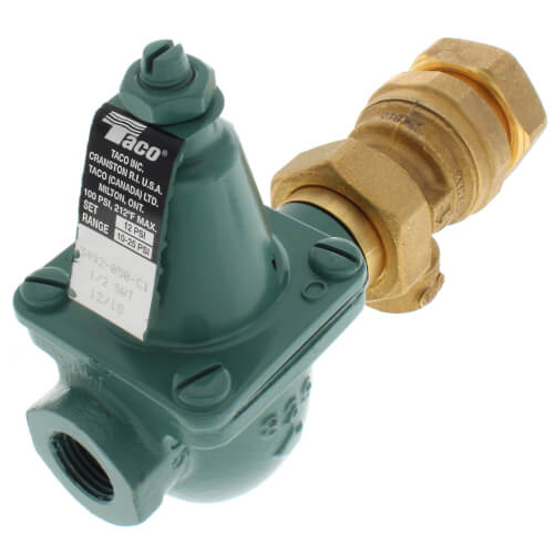 "1/2"" Cast Iron Combination Boiler Feed Valve & Backflow (Sweat x NPT) Product Image"