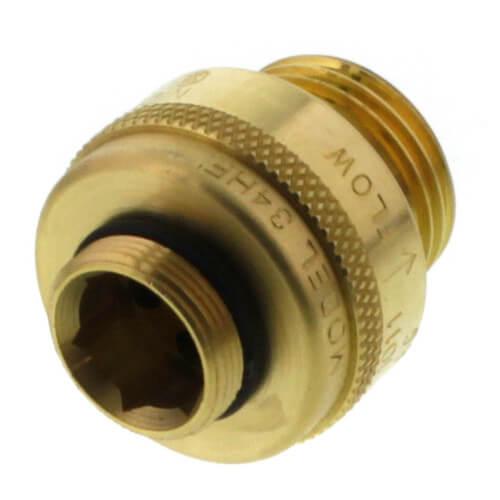 "Model-34HF, 3/4"" Female Hose Thread NIDEL Vacuum Breaker (Brass) Product Image"
